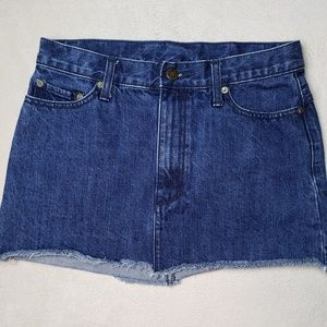 Women's - Free People Denim Mini Skirt, Size 0